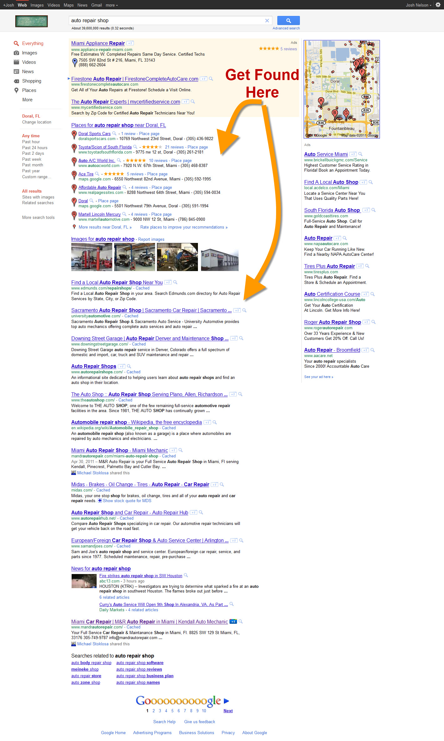 auto repair seo strategy for automotive repair shops body shops